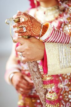 dulhan & dulha indian pakistani bollywood bride and groom desi wedding punjabi sikh