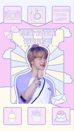 Don't remove the watermark. don't repost & claim this as yours! Follow me for more💗 TWITTER : @vkzook Kpop, Cute Stickers, Bts Wallpaper, Seokjin, Videos, Youtube, Disney Princess, Kawaii, Wallpapers
