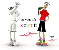 Color your life with Fido-dido by deladsign on deviantART Charlie Chaplin Old, Colorful Wallpaper, Color Of Life, Tattoos For Women, Art Gallery, Deviantart, Pencil Drawings, Bb, Cartoons