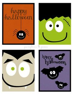 free printable halloween cards for kids 1 Free Printable Halloween Cards For Kids