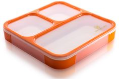 Bento Lunch Box | Flat and leakproof, though I can't find any info on how big it is. This looks like it'd be easy to slip into my backpack.