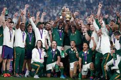 #rugby #rwc2019 #southafrica #champions Rugby, World Cup, In This Moment, History, Historia, World Cup Fixtures, Football