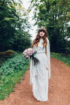 A Beautiful and Whimsical Woodland Elopement   Love My Dress® UK Wedding Blog