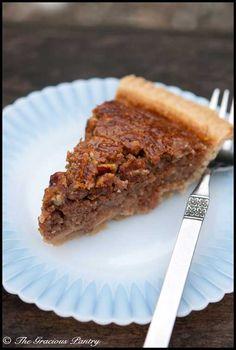 Clean Eating Pecan Pie
