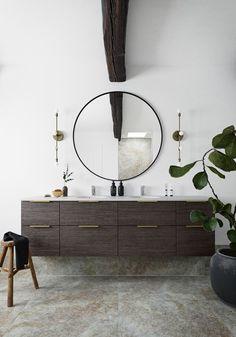 Harmony Dark | HTH Bad Inspiration, Bathroom Inspiration, Interior Inspiration, Bathroom Inspo, Design Bathroom, Bathroom Gallery, Bathroom Images, Turner House, Houses In Poland