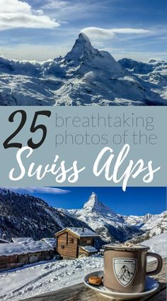 Photos of the Swiss Alps that will leave you dreaming of a trip there! Beautiful photos of Switzerland