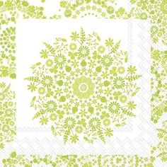 Lilly light green Cocktail Napkins 240 ct