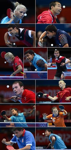 The Sexiest Sport: Faces of Olympic table tennis Table Tennis Player, Table Tennis Racket, Tennis Table, Olympic Table Tennis, Outdoor Ping Pong Table, Crazy Funny Pictures, Tennis Funny, Ping Pong Paddles, Commonwealth Games