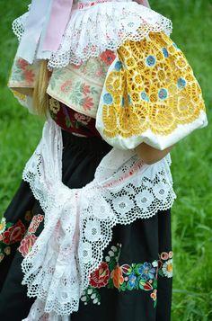 slovak folklor Folk Costume, Costumes, The Older I Get, Anton, Homeland, Folklore, Hand Embroidery, Textiles, Inspiration