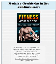 The Future of Fitness PLR Mega Pack by Rick Warid Review is The Best PLR to Fully Done For You Info Product in massive industry focusing on the wearable fitness technology and incorporate it into y…