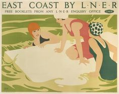 East Coast rail poster.