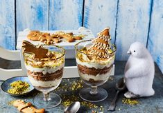 Desserts In A Glass, Cake Cookies, Fudge, Tiramisu, Food Porn, Food And Drink, Cooking Recipes, Pudding, Sweets