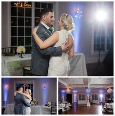Bride and groom private last dance at Krum Milestone Wedding Photos by www.brittanybarclay.com