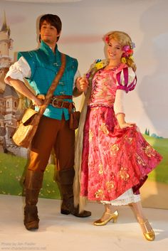 Flynn and Rapunzel from Tangled
