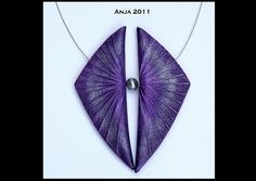 Necklace Radiating Designs - Purple | Flickr - Photo Sharing!