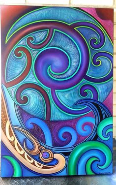 Maori art... Beautiful