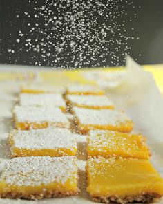 gluten free Lemon Bars with an Almond Crust