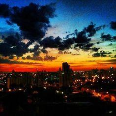 Sky of Bauru, Brazil. Hopefully going here December 2014!!!