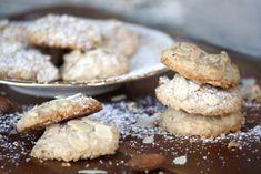 Mandľové sušienky - recept na nízkohistamínové a bezlepkové keksíky! Cheesecake, Dessert Recipes, Gluten Free, Cookies, Healthy, Sweet, Fit, Inspiration, Glutenfree