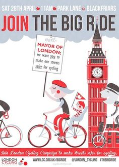 'Join the Big Ride' by Andy Arthur - London Cycling Campaign 2012 Big Ride