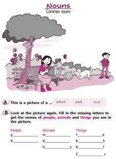 Grade 2 Grammar Lesson 4 Nouns – Common nouns (1)