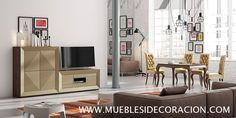 Salón Moderno del catálogo de Mueblesidecoracion. Haz tu propia composición de salón. Puedes ver todos los detalles y diseños en http://mueblesidecoracion.com/es/12-salones