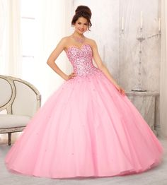 Mori Lee Vizcaya Quinceanera Dress Style 88084 is made for girls who want to look like a beautiful Princess on her Sweet 15 with its lovely design. Made out of tulle, this ball gown features a straple