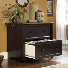 sauder edge water lateral filing cabinet wood file cabinets at filing cabinets