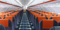 EasyJet plans to enhance its potency with new light-weight seats and trollies on all flights - The new Recaro seats All Flights, New Crafts, Tivat Montenegro, Britain, Budgeting, Product Launch, How To Plan, News, Cabins