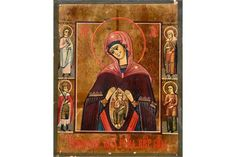 Bid Live on Lot 410 in the Art, Antiques, Collectibles Auction from Auktionshaus J. Tempera, Religious Art, Christian, Icons, Traditional, Antiques, Painting, Gold Paint, Ikon