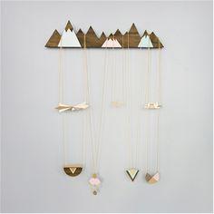 Mountains Jewelry Display/ Shlomit Ofir Jewelry Design - Shop