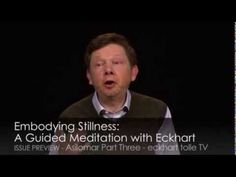 ▶ Eckhart Tolle: Embodying Stillness: A Guided Meditation with Eckhart - YouTube