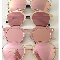 pink, sunglasses