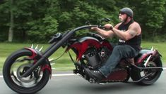 Chopper Motorcycle by OCC