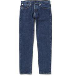 Levi's Vintage Clothing 1978 501 Slim-Fit Washed Selvedge Denim Jeans | MR PORTER