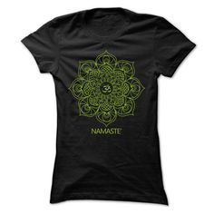NAMASTE T Shirts, Hoodies. Get it here ==► https://www.sunfrog.com/Fitness/NAMASTE-64243268-Guys.html?41382