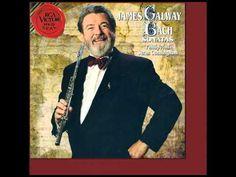 Sir James Galway - Bach Sonata in g minor (Allegro) bwv 1020 James Galway, G Minor, Flute, Videos, Musica, Flutes, Tin Whistle, Transverse Flute