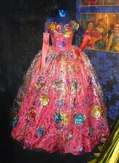 Anastasia's ballgown, Cinderella (2015).