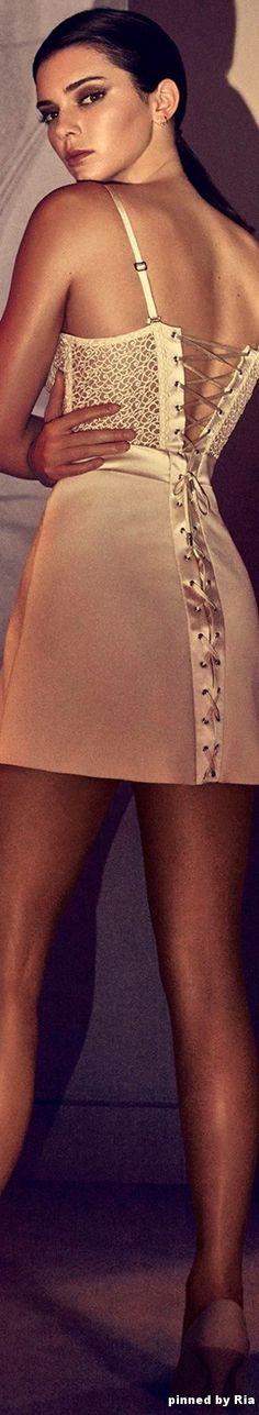 Kendall Jenner for La Perla Spring summer 2017 l Ria