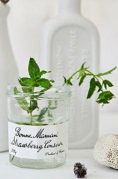 Bonne Maman as a Vase #white