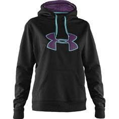 Under Armour Women's Storm Armour Fleece Intensity Big Logo Hoodie wanting one so bad!