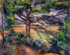 Large Pine and Red Earth - Paul Cezanne ۩۞۩۞۩۞۩۞۩۞۩۞۩۞۩۞۩ Gaby Féerie créateur de bijoux à thèmes en modèle unique ; sa.boutique.➜ http://www.alittlemarket.com/boutique/gaby_feerie-132444.html ۩۞۩۞۩۞۩۞۩۞۩۞۩۞۩۞۩