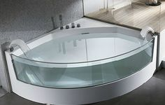 Vasca Da Bagno Semi Angolare : 124 best vasche da bagno images on pinterest bathroom bathtub and