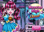 Monster High Draculaura Closet