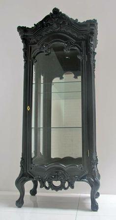 Victorian Curio Cabinet