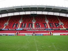 Thomond Park is the home of the world famous Munster Rugby Club. Limerick Ireland, Limerick City, Munster Rugby, Rugby Club, Irish Sea, Saint George, Stethoscope, British Isles, Great Britain