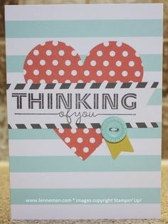 Everyday Occasions Kit- see all of the finished cards on my blog! Dena Lenneman, Stampin' Up! Demonstrator