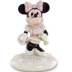 Lenox 833323 Disney Blooms for Minnie Figurine