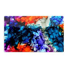 "Claire Day ""Evanescence"" Blue Rainbow Aluminum Magnet"