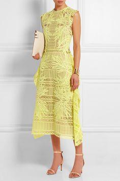 Erdem|Caissa guipure lace top|NET-A-PORTER.COM